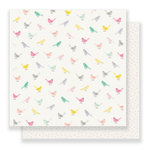 Crate Paper - Maggie Holmes Collection - Bloom - 12 x 12 Double Sided Paper - Little Bird