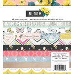 Crate Paper - Maggie Holmes Collection - Bloom - 6 x 6 Paper Pad