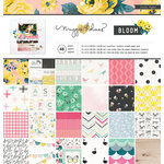 Crate Paper - Bloom Collection - 12 x 12 Paper Pad
