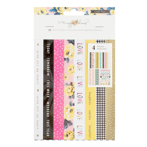 Crate Paper - Bloom Collection - Washi Sticker Book