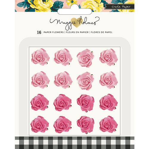 Crate Paper - Bloom Collection - Molded Paper Flowers