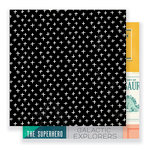 Crate Paper - Cool Kid Collection - 12 x 12 Double Sided Paper - Boys Club