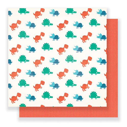 Crate Paper - Cool Kid Collection - 12 x 12 Double Sided Paper - Wild One