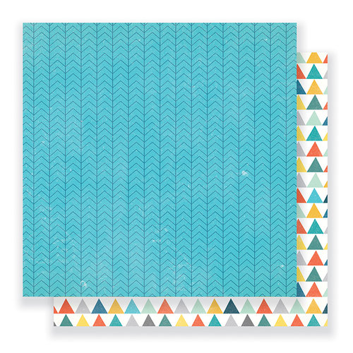 Crate Paper - Cool Kid Collection - 12 x 12 Double Sided Paper - Brothers