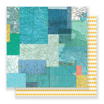 Crate Paper - Cool Kid Collection - 12 x 12 Double Sided Paper - Adventure