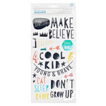 Crate Paper - Cool Kid Collection - Thickers - Puffy - Boys