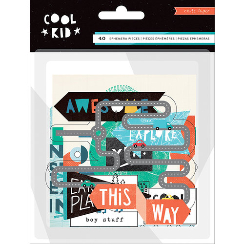 Crate Paper - Cool Kid Collection - Ephemera