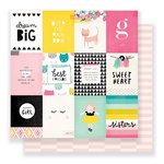 Crate Paper - Cute Girl Collection - 12 x 12 Double Sided Paper - Sweetheart