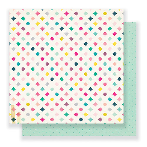 Crate Paper - Cute Girl Collection - 12 x 12 Double Sided Paper - Magical