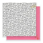 Crate Paper - Cute Girl Collection - 12 x 12 Double Sided Paper - Sisters
