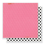Crate Paper - Cute Girl Collection - 12 x 12 Double Sided Paper - Giggle