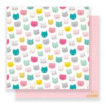 Crate Paper - Cute Girl Collection - 12 x 12 Double Sided Paper - Sassy