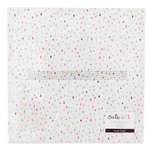 Crate Paper - Cute Girl Collection - 12 x 12 Vellum Paper - Twirl