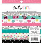 Crate Paper - Cute Girl Collection - 6 x 6 Paper Pad