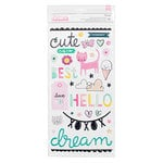 Crate Paper - Cute Girl Collection - Thickers - Adorable