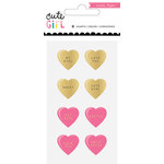 Crate Paper - Cute Girl Collection - Resin Hearts