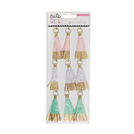 Crate Paper - Cute Girl Collection - Paper Tassels