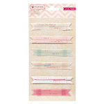 American Crafts - Crate Paper - Fourteen Collection - Stitched labels