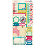 Crate Paper - Maggie Holmes Collection - Cardstock Stickers Labels and Borders