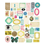 American Crafts - Crate Paper - Maggie Holmes Collection - Ephemera Pack