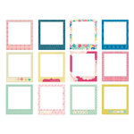 American Crafts - Crate Paper - Maggie Holmes Collection - Stitched Fabric Frames
