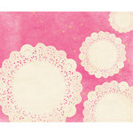 American Crafts - Crate Paper - Maggie Holmes Collection - Patterned Cloth Album - 12 x 12 D-Ring