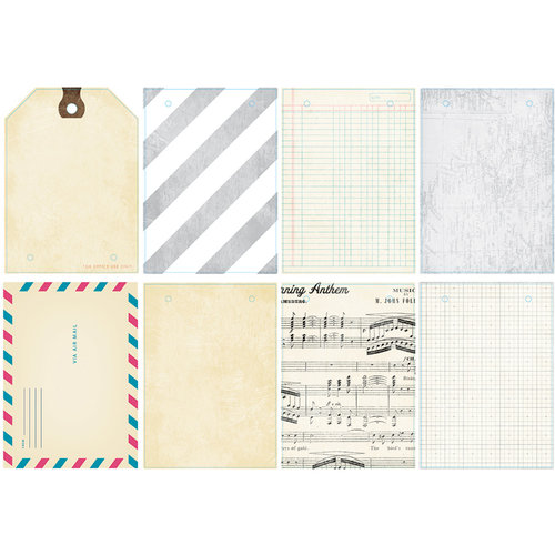 American Crafts - Crate Paper - Maggie Holmes Collection - Clipboard Mini Album