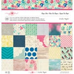 Crate Paper - Maggie Holmes Collection - 12 x 12 Paper Pad