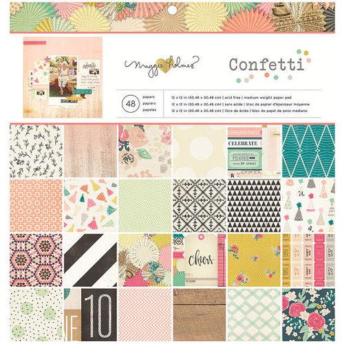Crate Paper - Confetti Collection - 12 x 12 Paper Pad