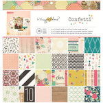 Crate Paper - Confetti Collection - 12 x 12 Paper Pad