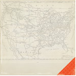 Crate Paper - Open Road Collection - 12 x 12 Double Sided Paper - Scenic Route