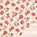 Crate Paper - Kiss Kiss Collection - 12 x 12 Double Sided Paper - In Love