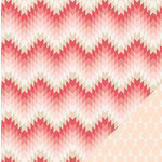 Crate Paper - Kiss Kiss Collection - 12 x 12 Double Sided Paper - Valentine