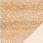 Crate Paper - Kiss Kiss Collection - 12 x 12 Double Sided Paper - Be Mine