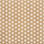 Crate Paper - Craft Market Collection - 12 x 12 Burlap - Polka Dot