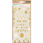Crate Paper - Craft Market Collection - Puffy Stickers