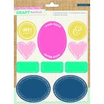 Crate Paper - Craft Market Collection - Chalkboard Stickers