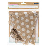 Crate Paper - Craft Market Collection - Burlap Flag Kit