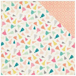 Crate Paper - Confetti Collection - 12 x 12 Double Sided Paper - Celebrate