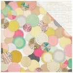 Crate Paper - Confetti Collection - 12 x 12 Double Sided Paper - Backdrop