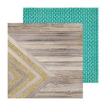 Crate Paper - Confetti Collection - 12 x 12 Double Sided Paper with Glitter Accents - Sparkling