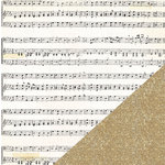 Crate Paper - Confetti Collection - 12 x 12 Double Sided Paper with Glitter Accents - Happy Day