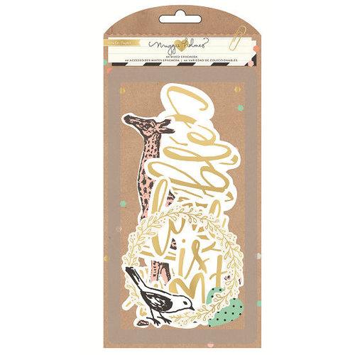 Crate Paper - Confetti Collection - Ephemera - Acetate and Vellum