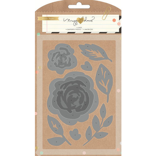Crate Paper - Confetti Collection - Die Set - Flowers