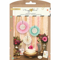 Crate Paper - Confetti Collection - Party Kits - Tissue Fans