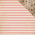 Crate Paper - Journey Collection - 12 x 12 Double Sided Paper - Route