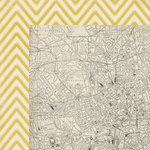 Crate Paper - Journey Collection - 12 x 12 Double Sided Paper - Navigate