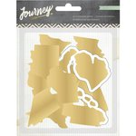 Crate Paper - Journey Collection - Chipboard States
