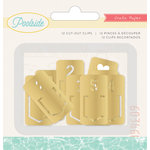 Crate Paper - Poolside Collection - Clip Tabs - Gold