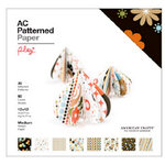 American Crafts - 12 x 12 Patterned Paper Pack - 60 Sheets - Play, BRAND NEW